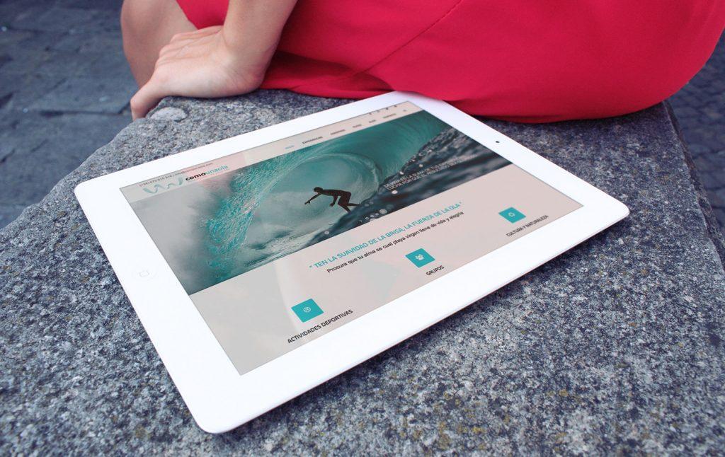 Previa como una ola tablet web 2016